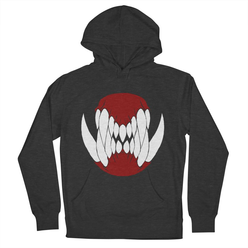 Ball Of Teeth Men's Pullover Hoody by Necrotic Pixie's Artist Shop