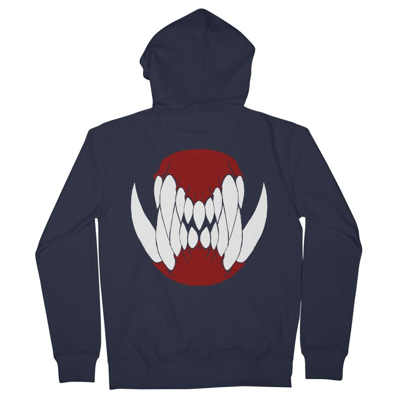 Ball Of Teeth Women's Zip-Up Hoody by Necrotic Pixie's Artist Shop