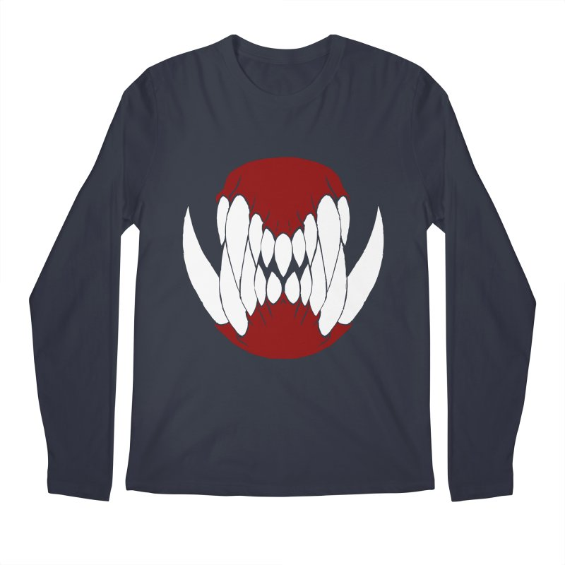 Ball Of Teeth Men's Longsleeve T-Shirt by Necrotic Pixie's Artist Shop