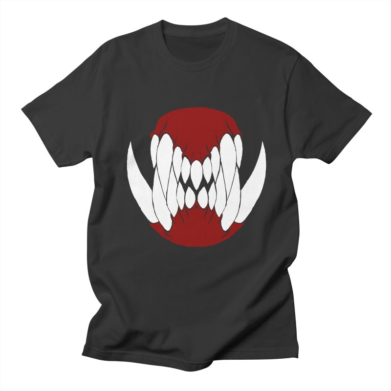 Ball Of Teeth in Men's T-shirt Smoke by Necrotic Pixie's Artist Shop