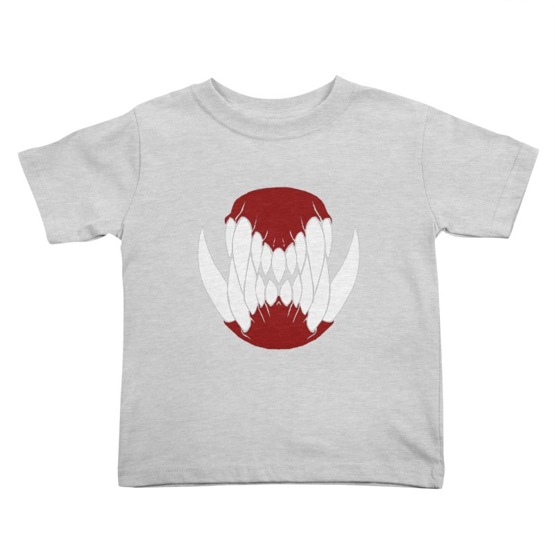 Ball Of Teeth Kids Toddler T-Shirt by Necrotic Pixie's Artist Shop