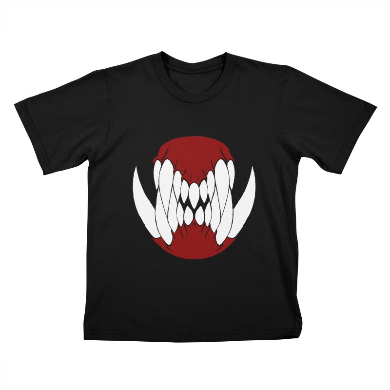 Ball Of Teeth Kids T-shirt by Necrotic Pixie's Artist Shop
