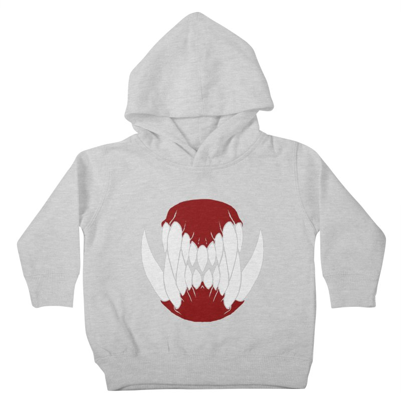 Ball Of Teeth Kids Toddler Pullover Hoody by Necrotic Pixie's Artist Shop