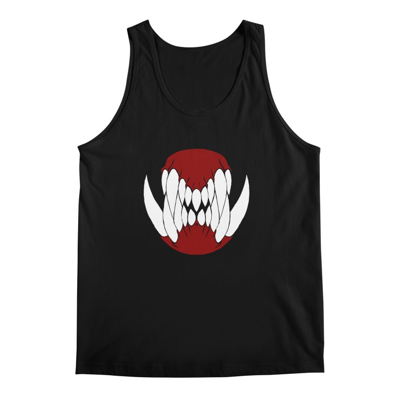 Ball Of Teeth Men's Tank by Necrotic Pixie's Artist Shop