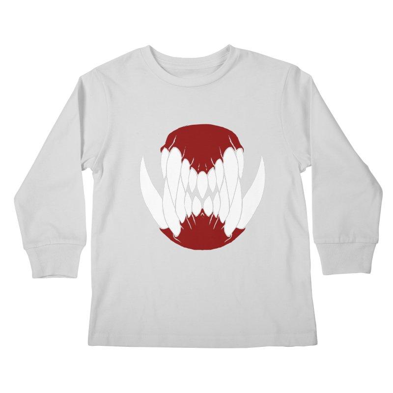 Ball Of Teeth Kids Longsleeve T-Shirt by Necrotic Pixie's Artist Shop