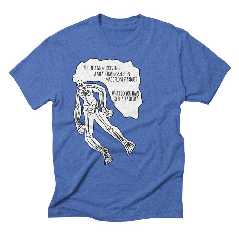 Ghostronaut Men's Triblend T-Shirt by Necrotic Pixie's Artist Shop