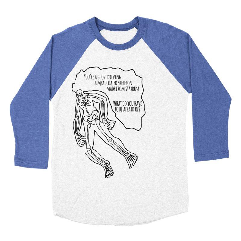 Ghostronaut Women's Baseball Triblend T-Shirt by Necrotic Pixie's Artist Shop