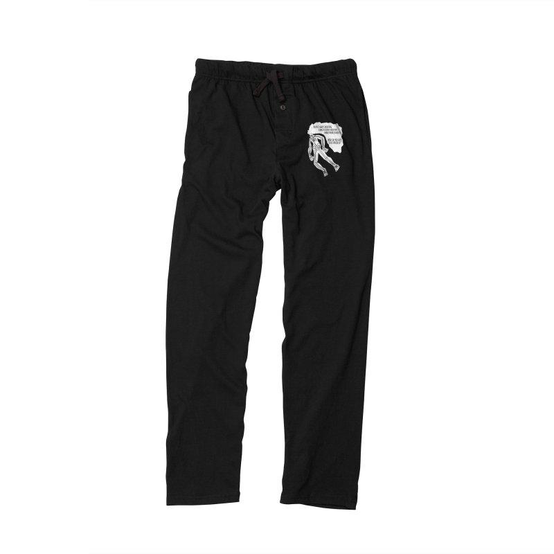 Ghostronaut Men's Lounge Pants by Necrotic Pixie's Artist Shop
