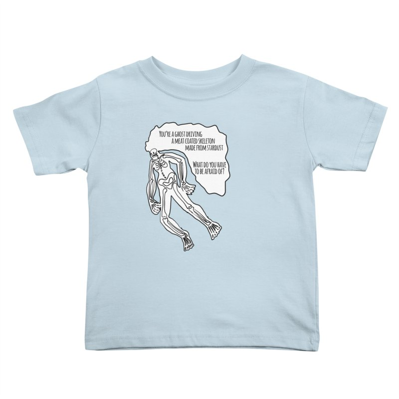 Ghostronaut Kids Toddler T-Shirt by Necrotic Pixie's Artist Shop