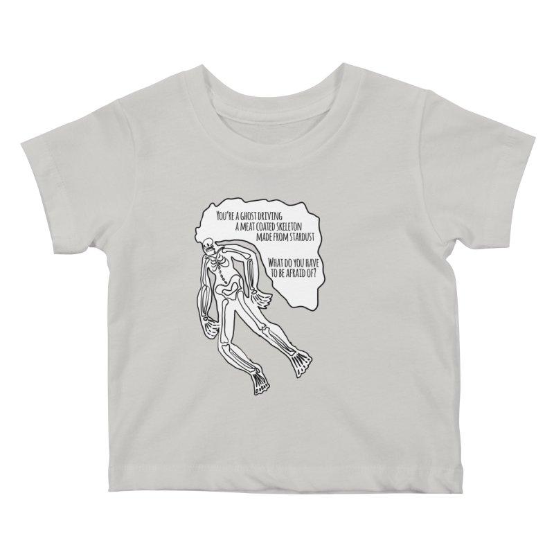 Ghostronaut Kids Baby T-Shirt by Necrotic Pixie's Artist Shop