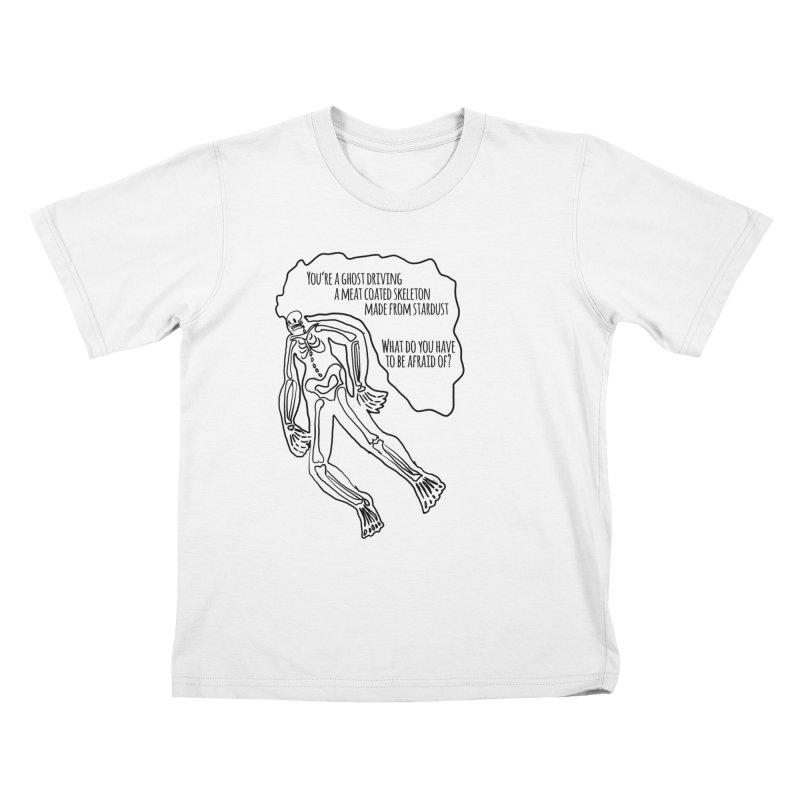 Ghostronaut Kids T-shirt by Necrotic Pixie's Artist Shop