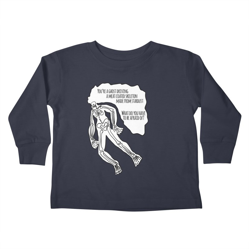 Ghostronaut Kids Toddler Longsleeve T-Shirt by Necrotic Pixie's Artist Shop