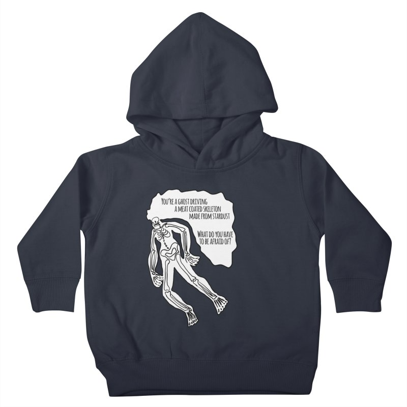 Ghostronaut Kids Toddler Pullover Hoody by Necrotic Pixie's Artist Shop