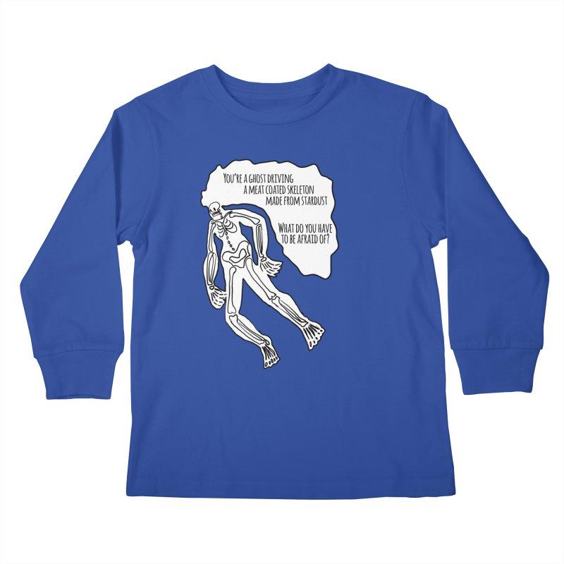 Ghostronaut Kids Longsleeve T-Shirt by Necrotic Pixie's Artist Shop