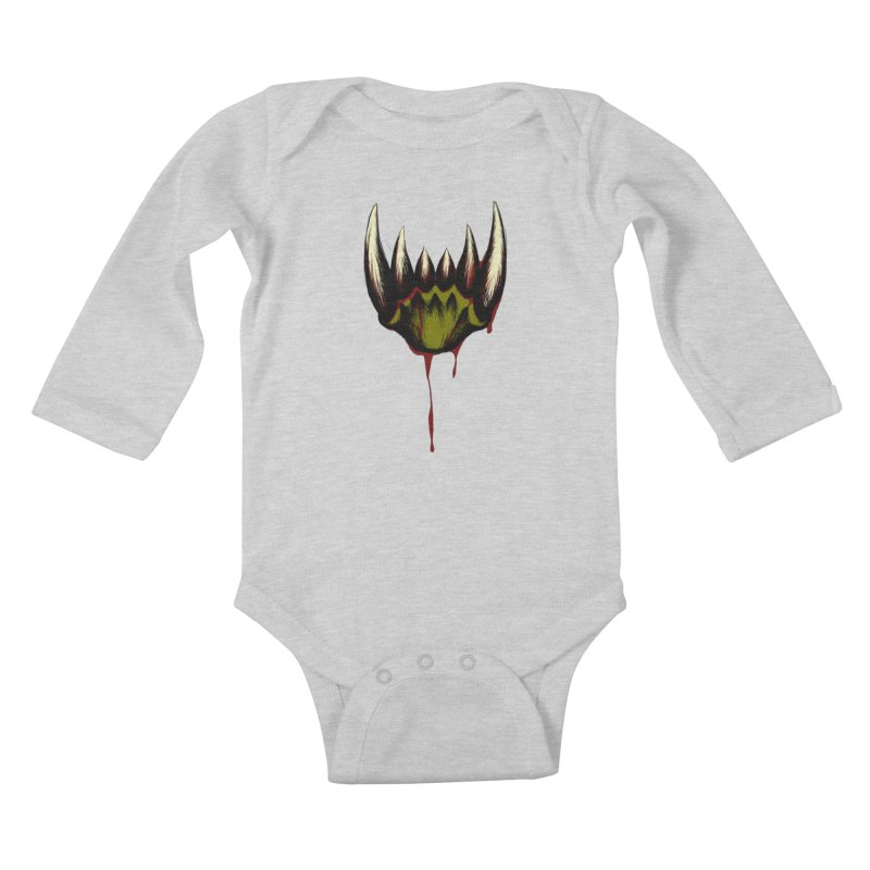 Howl Kids Baby Longsleeve Bodysuit by Necrotic Pixie's Artist Shop