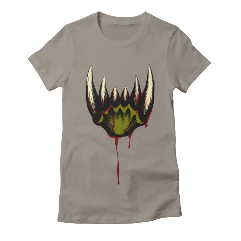 Howl Women's Fitted T-Shirt by Necrotic Pixie's Artist Shop