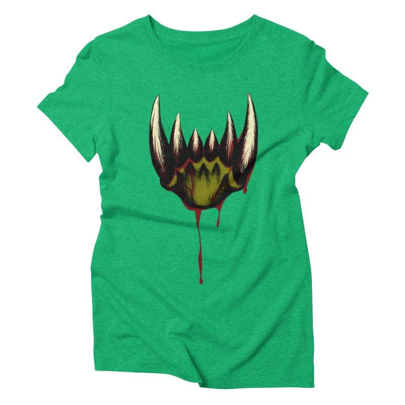 Howl Women's Triblend T-Shirt by Necrotic Pixie's Artist Shop