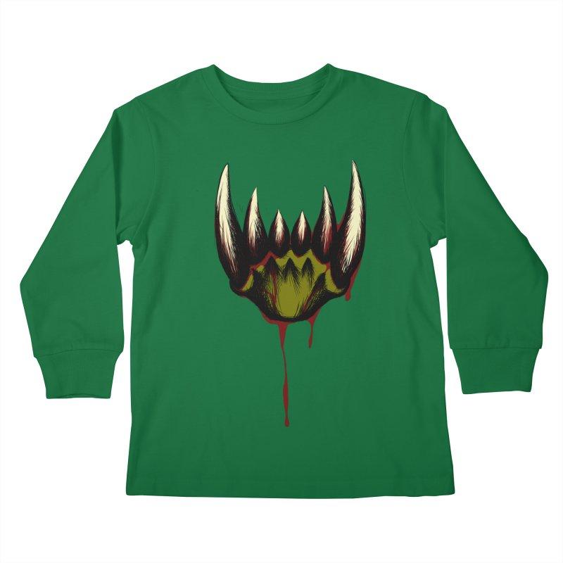 Howl Kids Longsleeve T-Shirt by Necrotic Pixie's Artist Shop