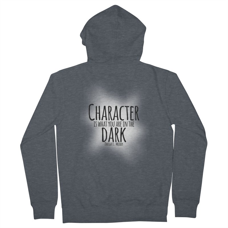 Who We Are In The Dark Women's Zip-Up Hoody by Necrotic Pixie's Artist Shop