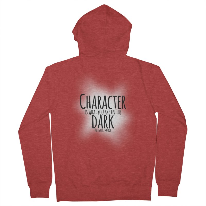 Who We Are In The Dark Men's Zip-Up Hoody by Necrotic Pixie's Artist Shop