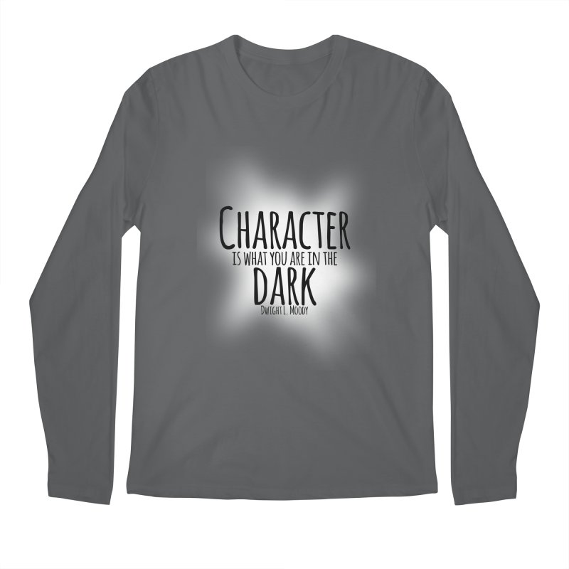 Who We Are In The Dark Men's Longsleeve T-Shirt by Necrotic Pixie's Artist Shop