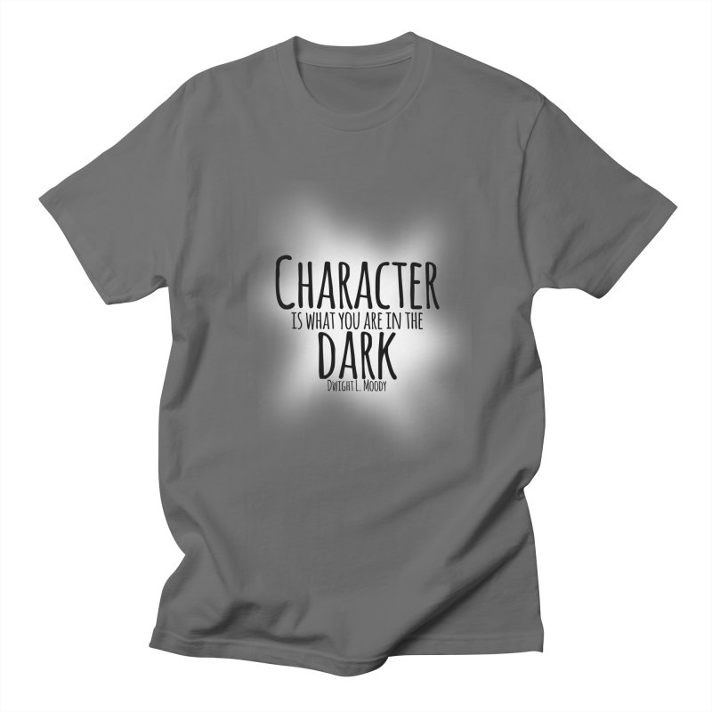 Who We Are In The Dark Men's T-shirt by Necrotic Pixie's Artist Shop