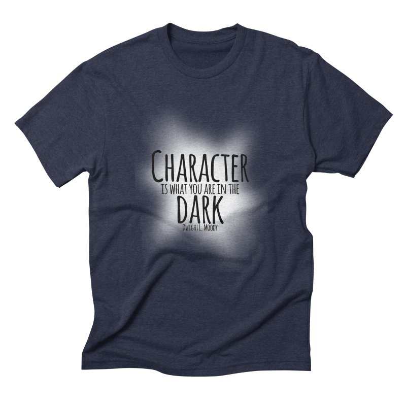 Who We Are In The Dark Men's Triblend T-Shirt by Necrotic Pixie's Artist Shop
