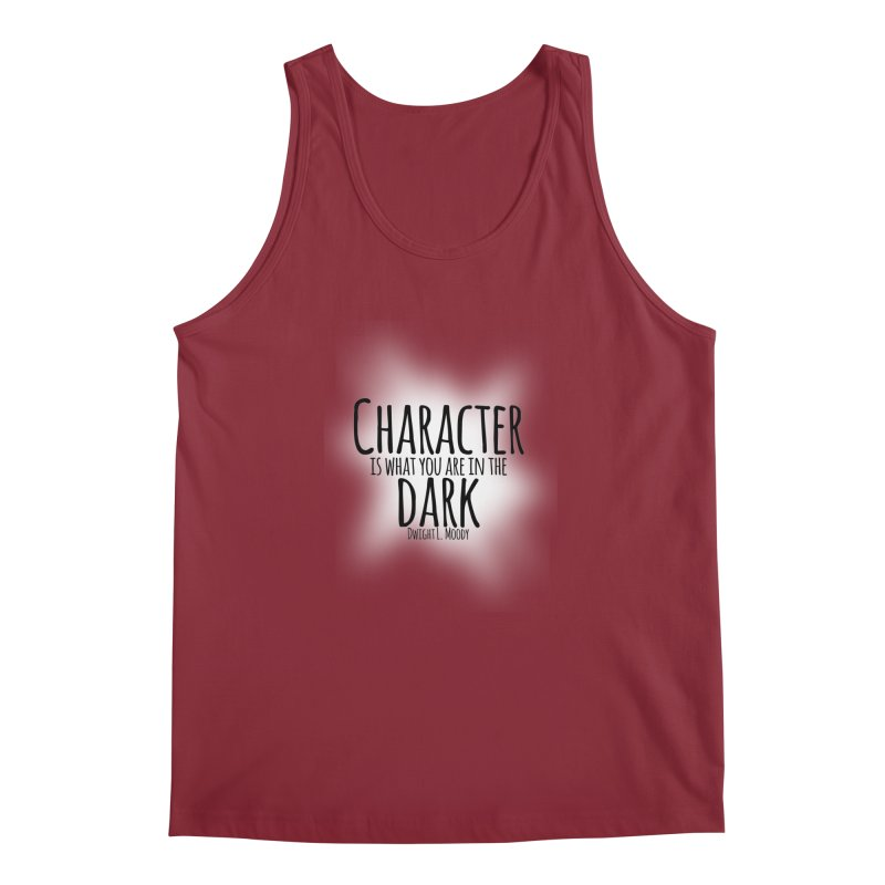 Who We Are In The Dark Men's Tank by Necrotic Pixie's Artist Shop
