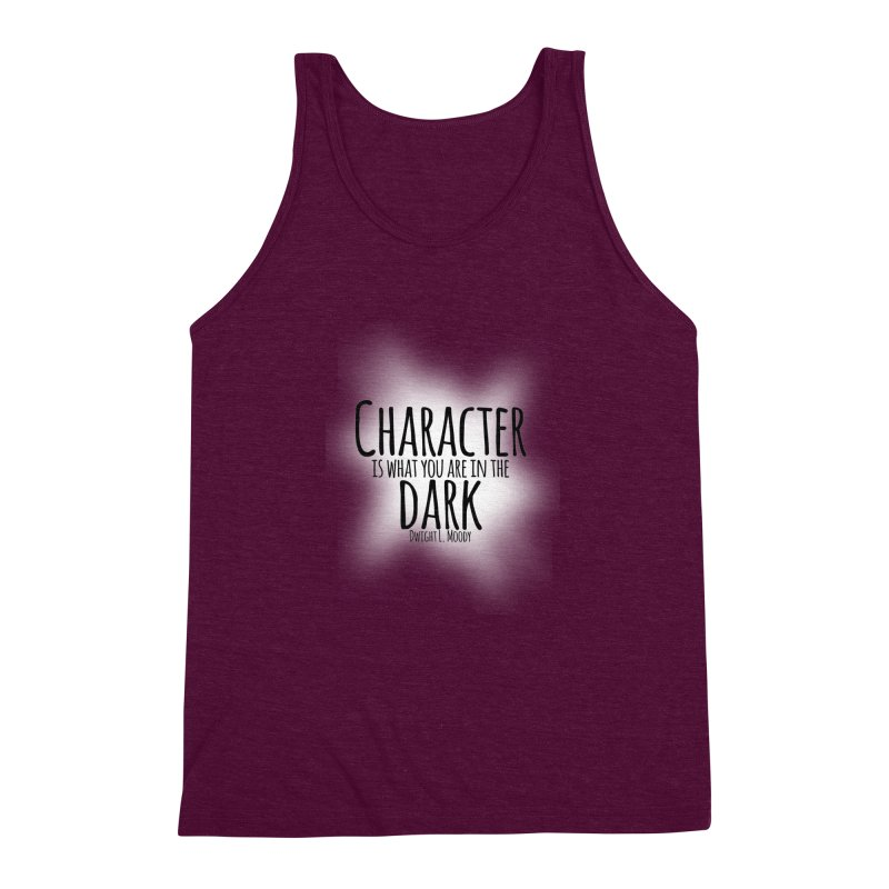 Who We Are In The Dark Men's Triblend Tank by Necrotic Pixie's Artist Shop