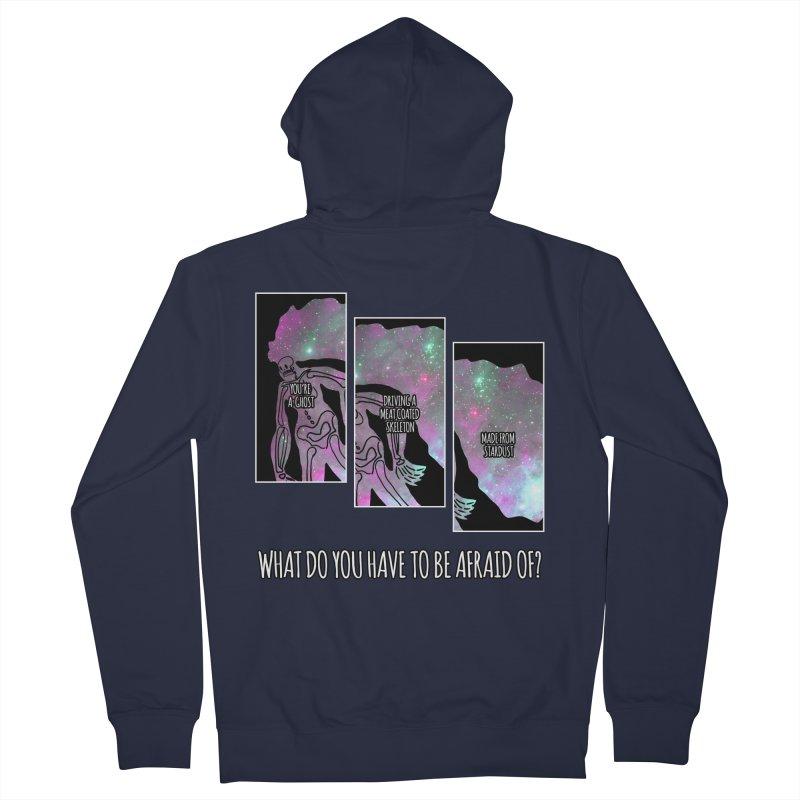 Ghostronaut Women's Zip-Up Hoody by Necrotic Pixie's Artist Shop