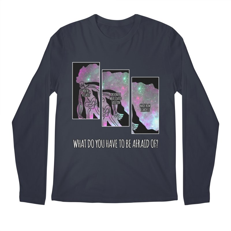 Ghostronaut Men's Longsleeve T-Shirt by Necrotic Pixie's Artist Shop