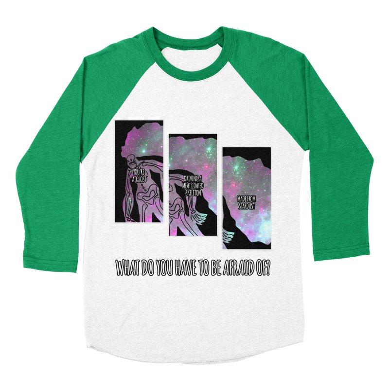Ghostronaut Men's Baseball Triblend T-Shirt by Necrotic Pixie's Artist Shop