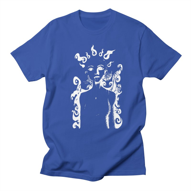 Girl and her Monsters Men's T-shirt by Necrotic Pixie's Artist Shop
