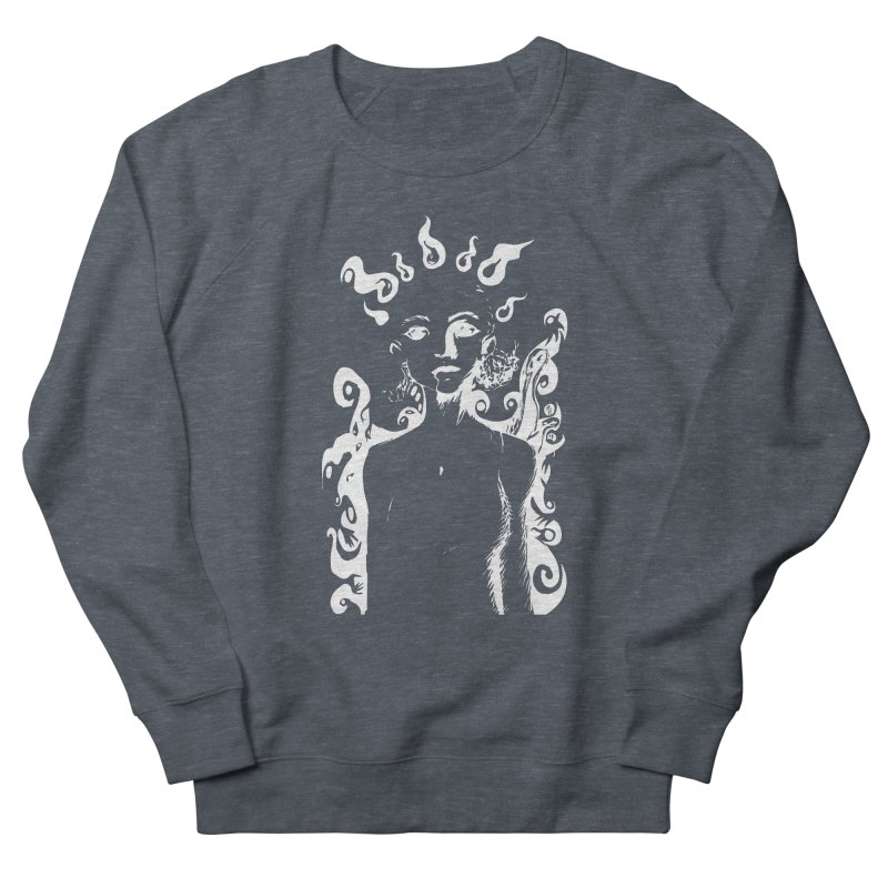 Girl and her Monsters Women's Sweatshirt by Necrotic Pixie's Artist Shop