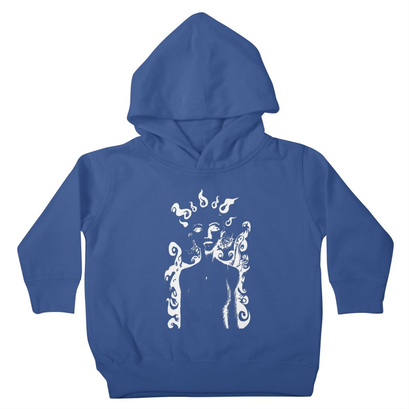Girl and her Monsters Kids Toddler Pullover Hoody by Necrotic Pixie's Artist Shop