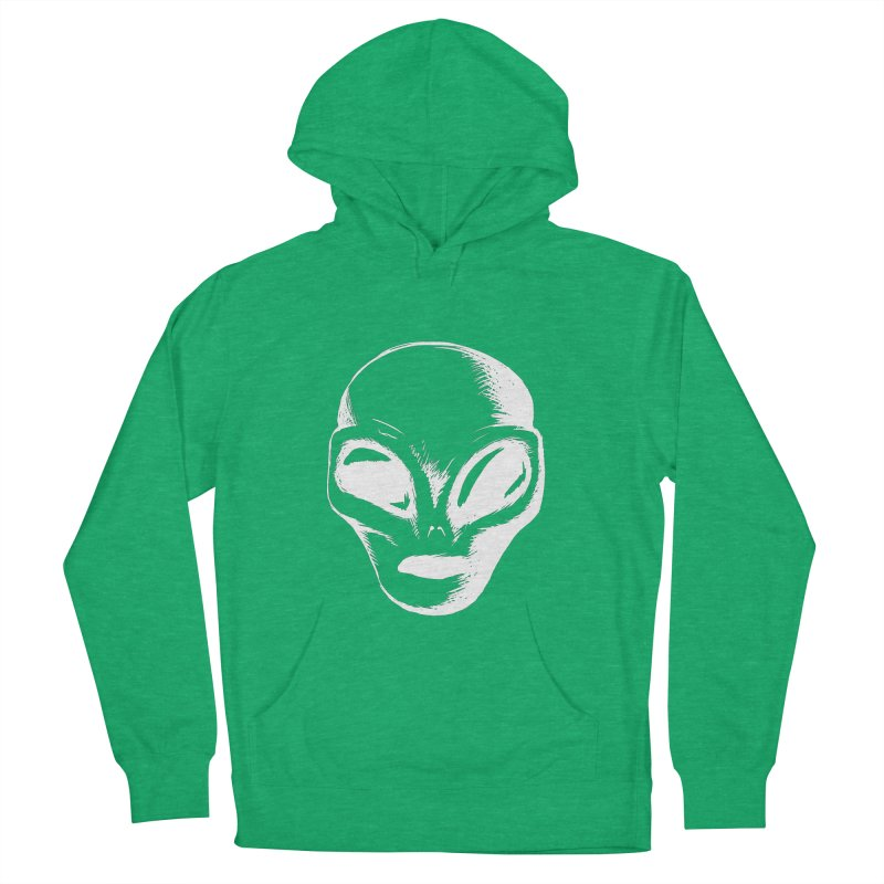 Alien Men's Pullover Hoody by Necrotic Pixie's Artist Shop