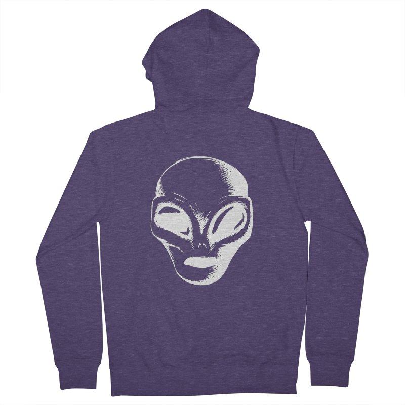 Alien Men's Zip-Up Hoody by Necrotic Pixie's Artist Shop