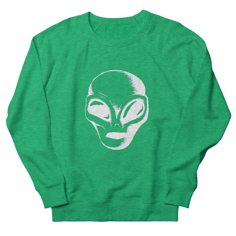 Alien Men's Sweatshirt by Necrotic Pixie's Artist Shop