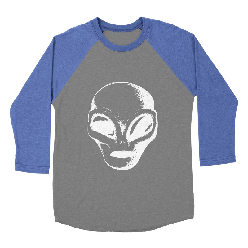 Alien Men's Baseball Triblend T-Shirt by Necrotic Pixie's Artist Shop