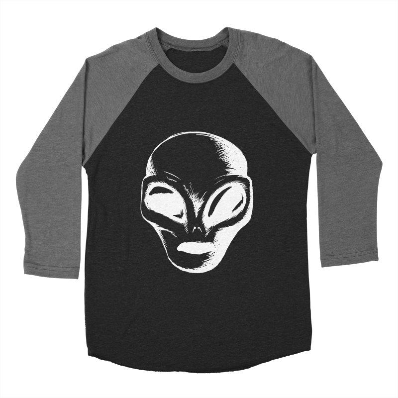 Alien Men's Baseball Triblend T-Shirt by Necrotic Pixie's Artist Shop