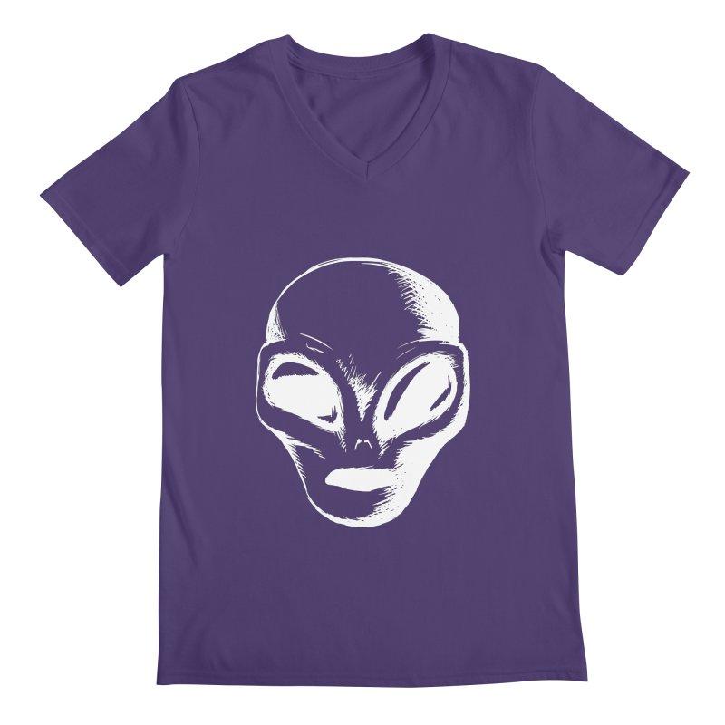 Alien Men's V-Neck by Necrotic Pixie's Artist Shop