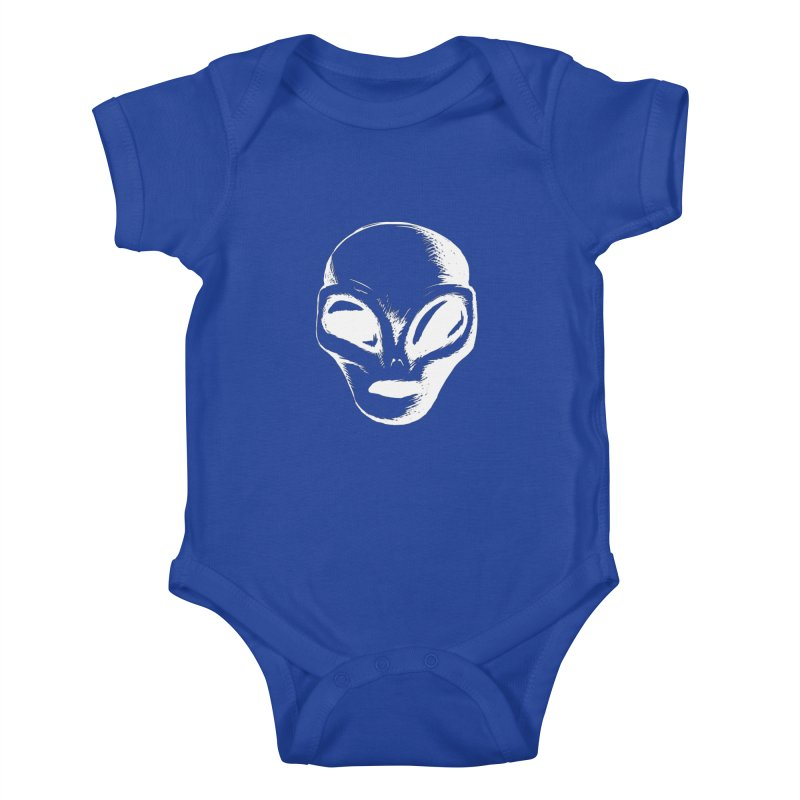 Alien Kids Baby Bodysuit by Necrotic Pixie's Artist Shop
