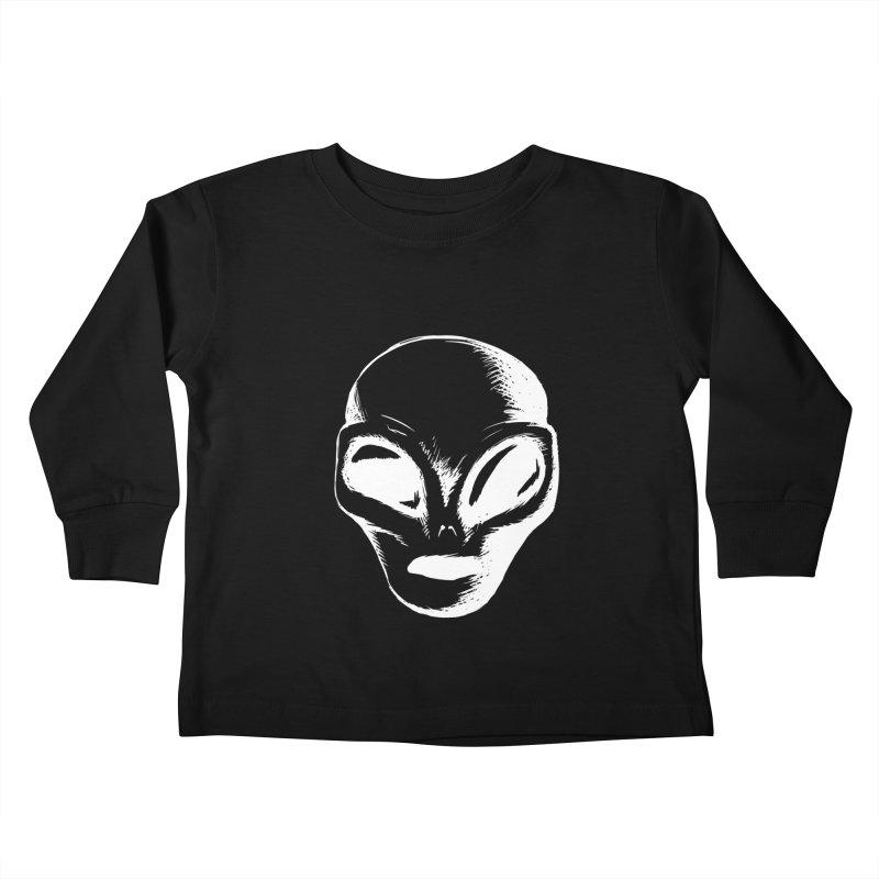 Alien Kids Toddler Longsleeve T-Shirt by Necrotic Pixie's Artist Shop
