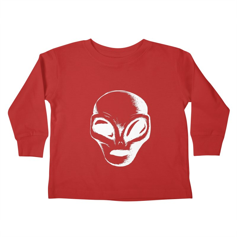 Alien Kids Toddler Longsleeve T-Shirt by Necrotic Pixie's Artist Shop