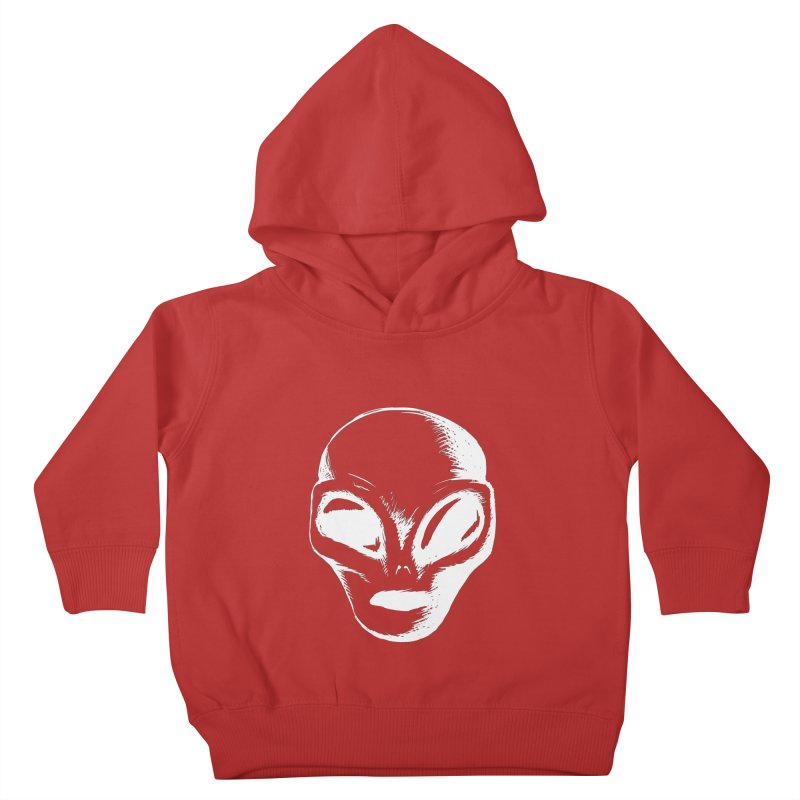 Alien Kids Toddler Pullover Hoody by Necrotic Pixie's Artist Shop