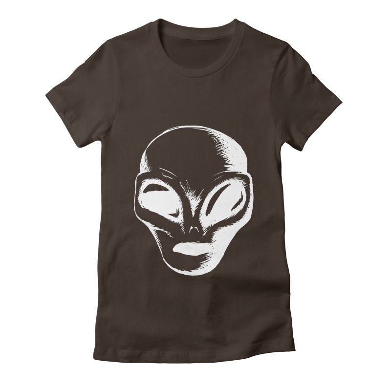 Alien Women's T-Shirt by Necrotic Pixie's Artist Shop