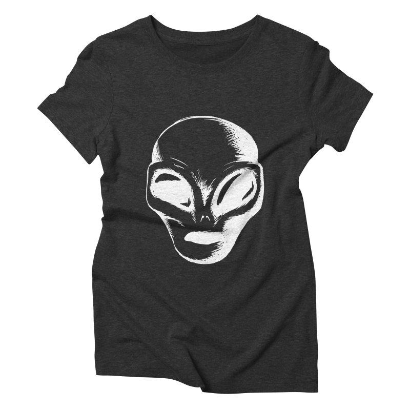 Alien Women's Triblend T-shirt by Necrotic Pixie's Artist Shop