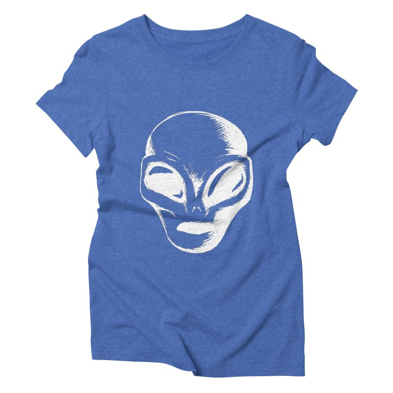 Alien Women's Triblend T-shirt by Necrotic Pixie's Artist Shop
