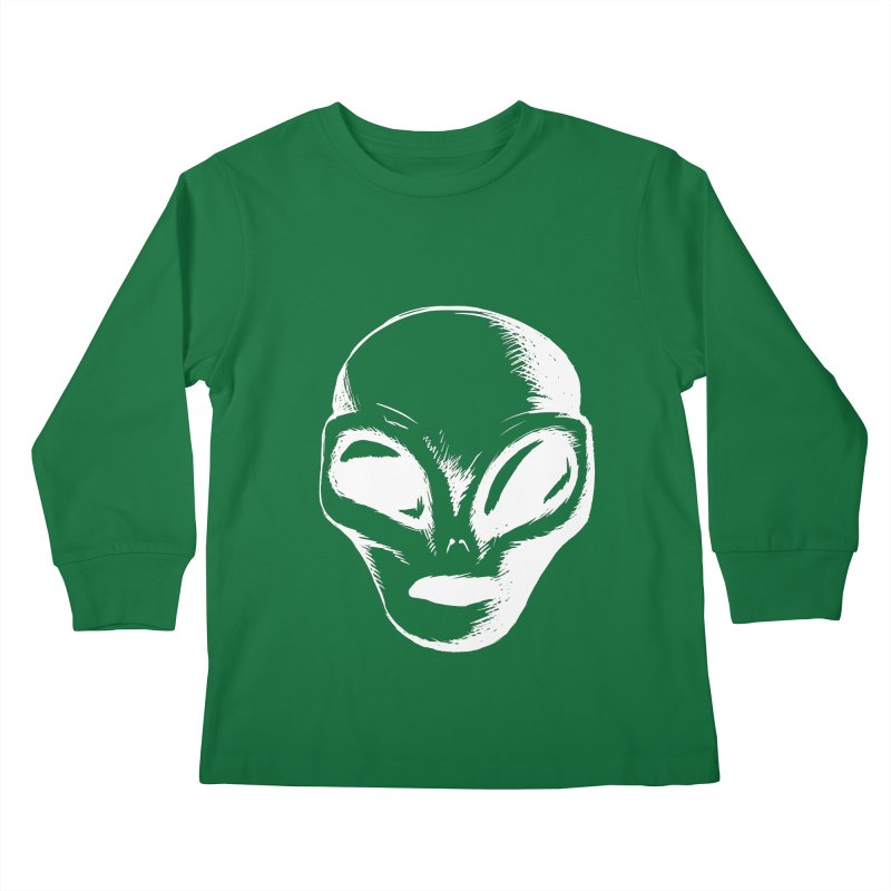 Alien Kids Longsleeve T-Shirt by Necrotic Pixie's Artist Shop