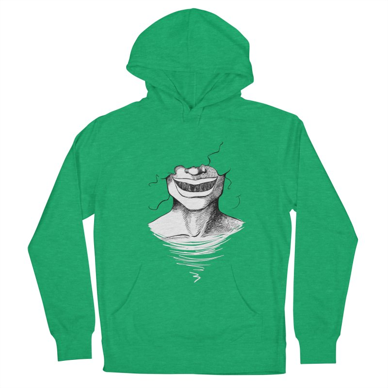 Demon's Smile Men's Pullover Hoody by Necrotic Pixie's Artist Shop